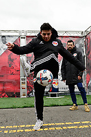 Harrison, NJ - Sunday March 04, 2018: Red Bull during a 2018 SheBelieves Cup match match between the women's national teams of the United States (USA) and France (FRA) at Red Bull Arena.