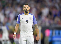 Houston, TX - Tuesday June 21, 2016: Clint Dempsey during a Copa America Centenario semifinal match between United States (USA) and Argentina (ARG) at NRG Stadium.