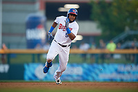 Buffalo Bisons Socrates Brito (51) running the bases during an International League game against the Syracuse Mets on June 29, 2019 at Sahlen Field in Buffalo, New York.  Buffalo defeated Syracuse 9-3.  (Mike Janes/Four Seam Images)