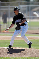 Randall Taylor - Colorado Rockies - 2009 spring training.Photo by:  Bill Mitchell/Four Seam Images