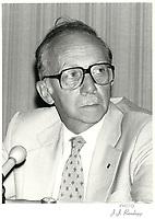 Robert Boyd, Hydro-Quebec<br /> , 1980<br /> <br /> PHOTO :  Agence Quebec Presse