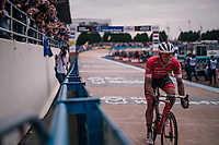 Jasper Stuyven (BEL/Trek-Segafredo) in the velodrome<br /> <br /> 116th Paris-Roubaix (1.UWT)<br /> 1 Day Race. Compiègne - Roubaix (257km)