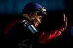 June 07, 2014: Joel Rosario wins the Belmont Stakes aboard Tonalist, ending California Chrome's (left) bid at a Triple Crown at Belmont Park in Elmont New York. Alex Evers/ESW/CSM
