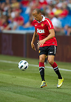 July 16, 2010 Gabriel Obertan No. 26 of Manchester United during an international friendly between Manchester United and Celtic FC at the Rogers Centre in Toronto.