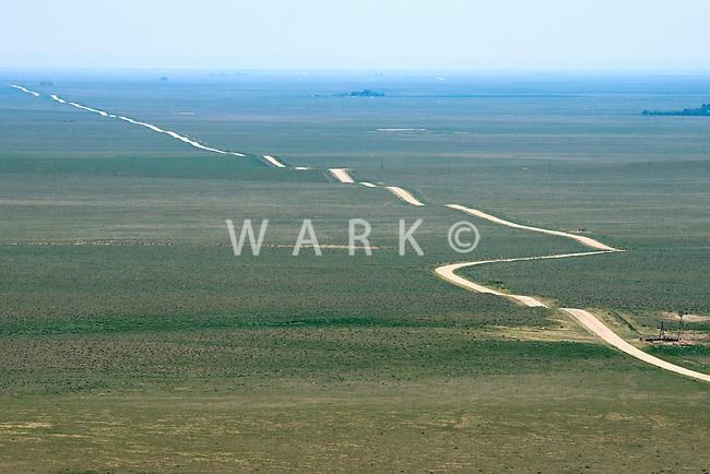 Ribbon road east of Colorado Springs. July 2014. 87016