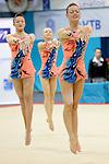 Sports Acrobatics Worlds 2014 Georgia Lancaster / Elise Matthews / Millie Spalding .Palais des sports Marcel Cerdan<br /> 141 Rue Danton<br /> 92300 Levallois-Perret<br /> France