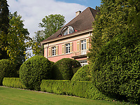 Villa, erbaut von Albert Speer Senior in Gartenanlage Stiegeler Park, Konstanz, Baden-Württemberg, Deutschland, Europa<br /> mansion built by Alber Speer sen.in Stiegeler Park gardens, Constance, Baden-Württemberg, Germany, Europe