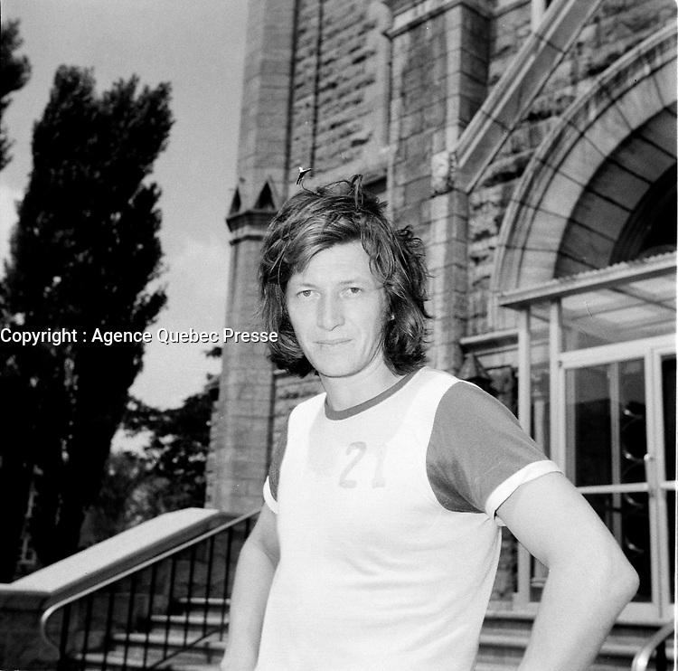 Claude Landry<br /> , avant son accident (date inconnue)<br /> <br /> Photo : Agence Quebec Presse - Roland Lachance