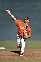 San Francisco Giants pitcher Tyler Beede (35) during an Instructional League game against the SK Wyverns on October 14, 2014 at Giants Baseball Complex in Scottsdale, Arizona.  (Mike Janes/Four Seam Images)