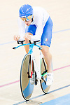 Liam Bertazzo of the Italy team competes in the Men's Individual Pursuit - Qualifying as part of the 2017 UCI Track Cycling World Championships on 14 April 2017, in Hong Kong Velodrome, Hong Kong, China. Photo by Marcio Rodrigo Machado / Power Sport Images