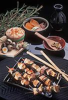 """Asie/Japon/Tokyo: Le poulet grillé """"Yakitori"""""""