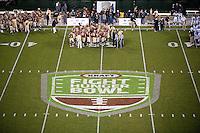 SAN FRANCISCO, CA--Nevada vs Boston College at the inaugural Kraft Fight Hunger Bowl at AT&T Park in San Francisco, CA.