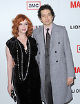 Christina Hendricks and husband at The AMC Premiere of The 6th Season Of Mad Men held at The DGA in West Hollywood, California on March 20,2013                                                                   Copyright 2013 Hollywood Press Agency