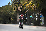Tadej Pogacar (SLO) UAE Team Emirates recon Stage 7 of Tirreno-Adriatico Eolo 2021, an individual time trial running 10.1km around San Benedetto del Tronto, Italy. 16th March 2021. <br /> Photo: LaPresse/Marco Alpozzi | Cyclefile<br /> <br /> All photos usage must carry mandatory copyright credit (© Cyclefile | LaPresse/Marco Alpozzi)
