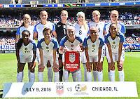 USWNT vs South Africa, July 9, 2016