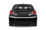 Straight rear view of a 2015 Subaru Impreza 2.0I Premium Auto 4 Door Sedan Rear View  stock images