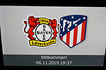 20191106 UEFA CL Bayer Leverkusen vs Atletico Madrid