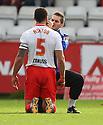 Physio Paul Dando treats Jon Ashton of Stevenage<br />  - Stevenage v Crawley Town - Sky Bet League 1 - Lamex Stadium, Stevenage - 26th October, 2013<br />  © Kevin Coleman 2013<br />  <br />  <br />  <br />  <br />  <br />  <br />  <br />  <br />  <br />  <br />  <br />  <br />  <br />  <br />  <br />  <br />  <br />  <br />  <br />  <br />  <br />  <br />  <br />  <br />  <br />  <br />  <br />  <br />  <br />  <br />  <br />  <br />  <br />  <br />  <br />  <br />  <br />  <br />  <br />  <br />  <br />  <br />  <br />  <br />  <br />  <br />  <br />  <br />  <br />  <br />  <br />  - Crewe Alexandra v Stevenage - Sky Bet League One - Alexandra Stadium, Gresty Road, Crewe - 22nd October 2013. <br /> © Kevin Coleman 2013