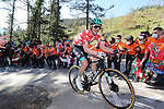 Maximilian Schachmann (GER) Bora-Hansgrohe on the final climb of Ermualde during Stage 3 of the Itzulia Basque Country 2021, running 167.7km from Amurrio to Laudi/Ermualde, Spain. 7th April 2021.  <br /> Picture: Luis Angel Gomez/Photogomezsport | Cyclefile<br /> <br /> All photos usage must carry mandatory copyright credit (© Cyclefile | Luis Angel Gomez/Photogomezsport)