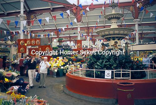 The Central Flower Market St Helier Jersey The Channel Islands UK. 2000s