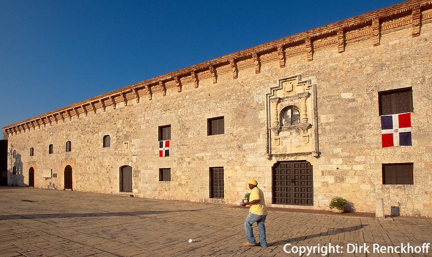Dominikanische Republik, Museum Casas Reales auf der Calle de las Damas in Santo Domingo