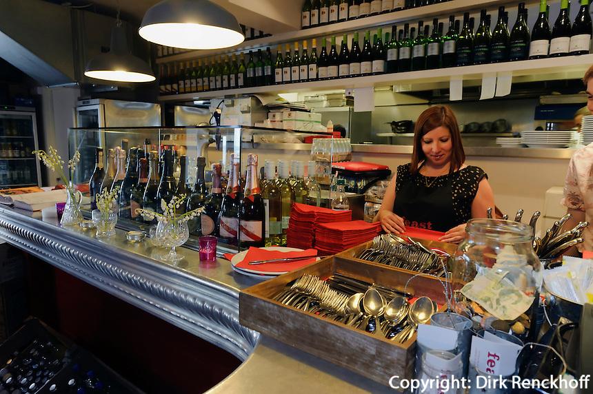 Restaurant Feast in Gorey, Insel Jersey, Kanalinseln
