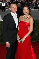 """NEW YORK CITY, NY, USA - MAY 05: Scott Campbell, Lake Bell at the """"Charles James: Beyond Fashion"""" Costume Institute Gala held at the Metropolitan Museum of Art on May 5, 2014 in New York City, New York, United States. (Photo by Xavier Collin/Celebrity Monitor)"""