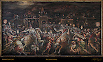 The Taking of Siena Vasari Salone dei Cinquecento (Hall of 500) Palazzo Vecchio Florence