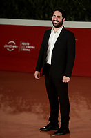 "Italian director Matteo Rovere poses on the red carpet for the screening of the film ""Romulus"" during the 15th Rome Film Festival (Festa del Cinema di Roma) at the Auditorium Parco della Musica in Rome on October 24, 2020.<br />