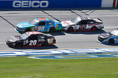 NASCAR Xfinity Series<br /> Sparks Energy 300<br /> Talladega Superspeedway, Talladega, AL USA<br /> Saturday 6 May 2017<br /> Erik Jones, Reser's American Classic Toyota Camry, Aric Almirola, Fresh From Florida Ford Mustang, Joey Logano, Discount Tire Ford Mustang<br /> World Copyright: John K Harrelson<br /> LAT Images<br /> ref: Digital Image 17TAL1jh_01563