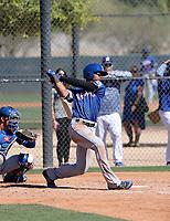 Leody Taveras - Texas Rangers 2019 spring training (Bill Mitchell)