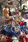 Mardi Gras jester dolls at the French Market, New Orleans, LA
