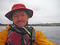 BNPS.co.uk (01202) 558833. <br /> Video: RoyBeal/KayakingForCharity/BNPS<br /> <br /> With Video - Download: https://we.tl/t-oBNxF4nwZe<br /> <br /> Potty paddler Roy Beal has written himself into the record books by kayaking from John O'Groats to Land's End – through canals, rivers and the sea.<br /> <br /> Roy embarked on the 900 mile odyssey that lasted 56 days in his wooden kayak named 'Just Add Water' and averaged around 20 miles a day.<br /> <br /> He paddled down the north east coast of Scotland, through Loch Ness and Loch Oich, down the west coast of Scotland and England to Merseyside where he ventured inland through canals and rivers before coming out through the Severn Estuary at Bristol and then around the south west coast to Land's End.