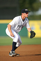 April 11, 2009:  Third Baseman Shawn Roof of the Lakeland Tigers, Florida State League Single-A affiliate of the Detroit Tigers, during a game at Joker Marchant Stadium in Lakeland, FL.  Photo by:  Mike Janes/Four Seam Images