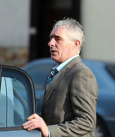 Pictured: Gerald Ward leaving Swansea Crown Court. Thursday 27 March 2014<br />