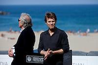 US actor Willem Dafoe and the director Abel Ferrara present the film 'Pasolini' during the 62st San Sebastian Film Festival in San Sebastian, Spain. September 21, 2014. (ALTERPHOTOS/Caro Marin) <br /> Foto Insidefoto <br /> Festival del film di San Sebastian <br /> Foto Alterphotos/Insidefoto