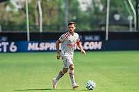 LAKE BUENA VISTA, FL - JULY 13: Pablo Piatti #7 of Toronto FC dribbles the ball during a game between D.C. United and Toronto FC at Wide World of Sports on July 13, 2020 in Lake Buena Vista, Florida.