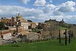Tuscania, Tuscany Italy. Church of San Lorenzo  or also know as Holy Martyrs, Basilicia of San Pietro, Basilica Santa Maria Maggiore.