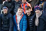 26.01.2020 Hearts v Rangers: Rangers fans