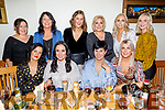 Catriona Galvin from Lixnaw enjoying her hen party on Friday.<br /> Seated Michelle O'Regan, Catriona, Mary Ann and Michelle Galvin.<br /> Back l to r: Helena Dennehy, Lorraine Jones, Elaine Greene, Claire Quilter, Hillary Donaghy and Elisha O'Connor,