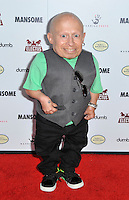 Verne Troyer at the premiere of Morgan Spurlock's 'Mansome' at the ArcLight Cinemas on May 9, 2012 in Hollywood, California. ©mpi35/MediaPunch Inc.