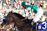 DEL MAR, CA: July 27: #3 Cistron with jockey Victor Espinoza in the Grade I Bing Crosby Stakes at Del Mar Thoroughbred Club on July 27, 2019 in Del Mar, California (Photo by Chris Crestik/Eclipse Sportswire)