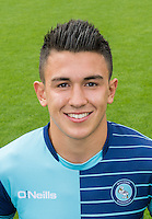 during the Wycombe Wanderers 2016/17 Team & Individual Squad Photos at Adams Park, High Wycombe, England on 1 August 2016. Photo by Jeremy Nako.