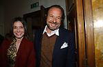 """BENEDETTA LIGNANI MARCHESANI CON SEBASTIANO GORNO<br /> VERNISSAGE """"ROMA 2006 10 ARTISTI DELLA GALLERIA FOTOGRAFIA ITALIANA"""" AUDITORIUM DELLA CONCILIAZIONE ROMA 2006"""