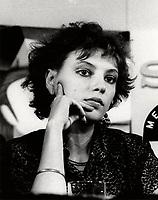 Montreal (Qc) CANADA -1985  File Photo - anne Letourneau<br /> <br /> PHOTO :  Agence Quebec Presse