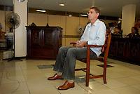 """O fazendeiro Regivaldo Pereira Galvão, o """"Taradão"""", acusado de ser o principal mandante da morte da missionária Dorothy Stang, ocorrida na manhã de 12 fevereiro de 2005, em Anapu, enfrenta hoje o Tribunal do Júri no Fórum Criminal de Belém.<br /> Belém Pará Brasil<br /> Paulo Santos<br /> 30 04 2010"""