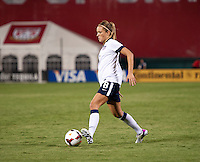 Kristie Mewis. The USWNT defeated Mexico, 7-0, during an international friendly at RFK Stadium in Washington, DC.  The USWNT defeated Mexico, 7-0.