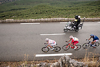 the breakaway group up the Col de la Faye<br /> <br /> Stage 3 from Nice to Sisteron (198km)<br /> <br /> 107th Tour de France 2020 (2.UWT)<br /> (the 'postponed edition' held in september)<br /> <br /> ©kramon