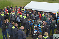 ZEILSPORT: ELAHUIZEN: 29-04-2018, SKS Skûtsjesilen Sprintwedstrijden, ©foto Martin de Jong, ©foto Martin de Jong