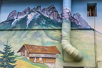 France, Haute-Savoie (74),Lac d'Annecy, Veyrier-du-Lac: Auberge des Dents de Lanfon  // France, Haute Savoie, Veyrier-du-Lac: Auberge des Dents de Lanfon